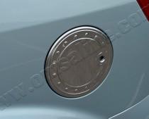 Хром накладка на лючок бензобака Форд Фьюжн (хромированный лючок на бензобак Ford Fusion)