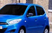 Хромированные молдинги стекол Хендай i10 1 (хром нижние молдинги стекол Hyundai i10 1)