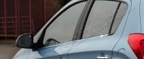 Хромированные молдинги стекол Hyundai i20 1 (хром нижние молдинги стекол Хендай i20 1)