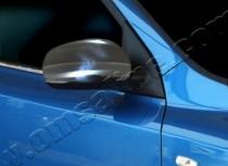 Хром накладки на зеркала Киа Сид 2 (хромированные накладки на боковые зеркала Kia Ceed 2)