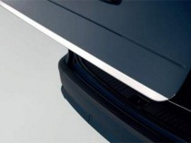 Хромированная кромка багажника Киа Пиканто 2 (хром нижняя кромка крышки багажника Kia Picanto 2)