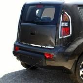 Хромированная кромка багажника Киа Соул 1 (хром нижняя кромка крышки багажника Kia Soul 1)