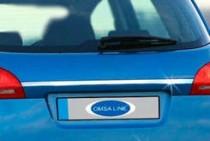 Хромированная накладка на багажник Киа Венга (хром накладка над номером Kia Venga)