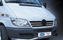 Хром накладки на решетку радиатора Мерседес Спринтер W901 (хромированные накладки на решетку радиатора Mercedes Sprinter W901)