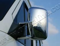 Хром накладки на зеркала Мерседес Спринтер W901 (хромированные накладки на боковые зеркала Mercedes Sprinter W901)