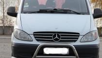 Omsa Line Хром накладки на решетку радиатора Мерседес Вито W639 (хромированные накладки на решетку радиатора Mercedes Vito W639)