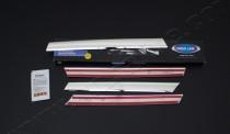 Хромированные накладки на радиаторную решетку Мерседес Вито W639