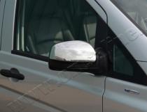 Хром накладки на зеркала Mercedes Vito W639 (хромированные накладки на боковые зеркала Мерседес Вито W639)