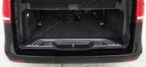 Хромированная накладка на багажник Мерседес Вито W447 (хром накладка над номером Mercedes Vito W447)