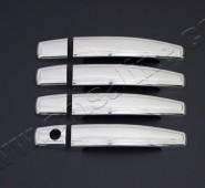 Omsa Line Хром дверные ручки Опель Астра Н (хромированные ручки на двери Opel Astra H)