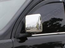 Хром накладки на зеркала Опель Комбо С (хромированные накладки на боковые зеркала Opel Combo C)