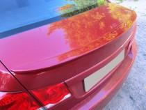 Накладка на крышку багажника Chevrolet Cruze (Шевроле Круз лип с
