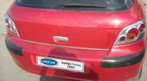 Хромированная кромка багажника Пежо 307 (хром нижняя кромка крышки багажника Peugeot 307)