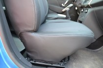 Чехлы в авто Рено Сандеро Степвей 2 (авточехлы на сиденья Renaul