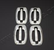 Хром накладки на ручки Пежо Боксер 2 (хромированные накладки на дверные ручки Peugeot Boxer 2)