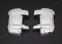 Купить хромированные накладки на зеркала Пежо Боксер 2006 (хром
