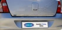 Хромированная кромка багажника Рено Симбол 1 (хром нижняя кромка крышки багажника Renault Symbol 1)