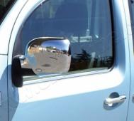 Хромированные молдинги стекол Рено Кенго 1 (хром нижние молдинги стекол Renault Kangoo 1)
