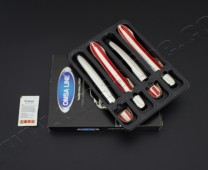 Хром накладки на ручки Рено Лагуна 2 (хромированные накладки на дверные ручки Renault Laguna 2)