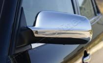 Хром накладки на зеркала Сеат Ибица 2 (хромированные накладки на боковые зеркала Seat Ibiza 2)