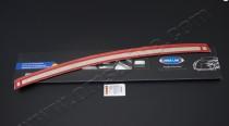 Защитная накладка порога заднего бампера Skoda Octavia A5 FL (ор