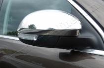 Хром накладки на зеркала Шкода Йети (хромированные накладки на боковые зеркала Skoda Yeti)