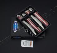 Оригинальные хром ручки Toyota Avensis 2 (фото хром окантовки ру