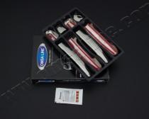 Хром накладки на ручки Тойота Королла Е150 (хромированные накладки на дверные ручки Toyota Corolla E150)
