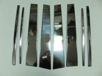 Хромированные молдинги дверных стоек Тойота Ленд Крузер Прадо 150 (хром молдинги на стойки Toyota Land Cruiser Prado 150)