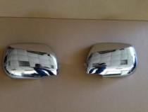 Хром накладки на зеркала Тойота Рав 4 2 (хромированные накладки на боковые зеркала Toyota RAV4 2)