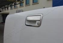 Хром ручки двери багажника Фольксваген Амарок (хромированные дверные ручки на багажник Volkswagen Amarok)