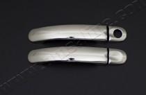 Хром накладки на ручки Фольксваген Битл (хромированные накладки на дверные ручки Volkswagen Beetle)