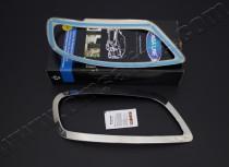 Хромированные накладки на передние фонари Volkswagen Caddy (пере