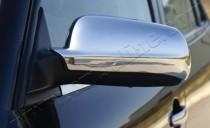 Хром накладки на зеркала Фольксваген Гольф 4 (хромированные накладки на боковые зеркала Volkswagen Golf 4)