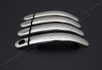 Хромированные накладки на ручки дверей Volkswagen Golf 5 Plus (к