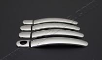 Накладки из нержавеющей стали на ручки Фольксваген Поло 5 (ориги