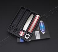 Хром накладки на дверные ручки Фольксваген Поло 5 3 -двери (уста