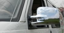 Хром накладки на зеркала Фольксваген Транспортер Т4 (хромированные накладки на боковые зеркала Volkswagen Transporter T4)