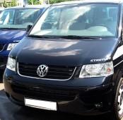 Хром накладка на решетку радиатора Фольксваген Транспортер Т5 (хромированная окантовка решетки радиатора Volkswagen Transporter