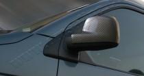 Omsa Line Накладки на зеркала Volkswagen Transporter T5 карбон (карбоновые накладки на боковые зеркала Фольксваген Транспортер Т5)