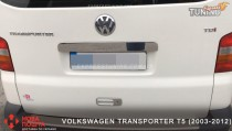 хром накладка сверху номера Transporter T5 ляда