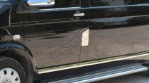 Хром накладка на лючок бензобака Volkswagen Transporter T5 (хромированный лючок на бензобак Фольксваген Транспортер Т5)