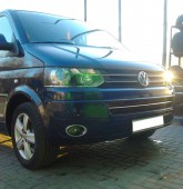 Хром пакет на противотуманные фары Volkswagen Transporter t5 (хр