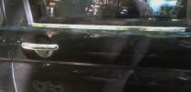 Хромированные молдинги стекол Фольксваген Транспортер Т5 (хром нижние молдинги стекол Volkswagen Transporter T5)