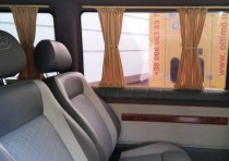 Шторки на стекло Форд Транзит (авто шторки Ford Transit)