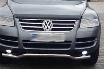 Хром накладки на решетку радиатора Фольксваген Туарег 1 (хромированные накладки на решетку радиатора Volkswagen Touareg 1)