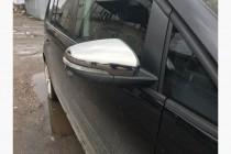Хром накладки на зеркала Фольксваген Туран 1 рестайл (хромированные накладки на боковые зеркала Volkswagen Touran 1 FL)