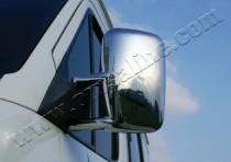 Хром накладки на зеркала Фольксваген ЛТ 35 (хромированные накладки на боковые зеркала Volkswagen LT 35)