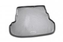 Коврик в багажник Киа Рио 3 седан (автомобильный коврик багажник
