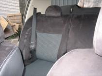Чехлы в авто Ниссан Тиида (авточехлы на сиденья Nissan Tiida)